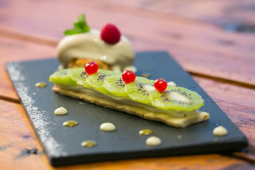 Belle idée de recette gourmande pour mettre en valeur le kiwi.