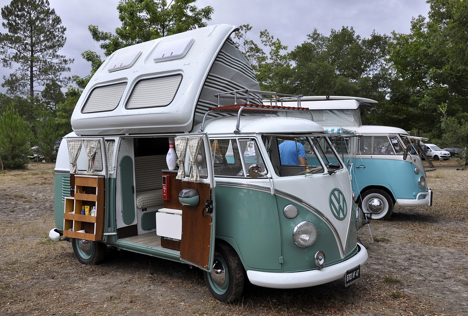 Aire de camping-cars