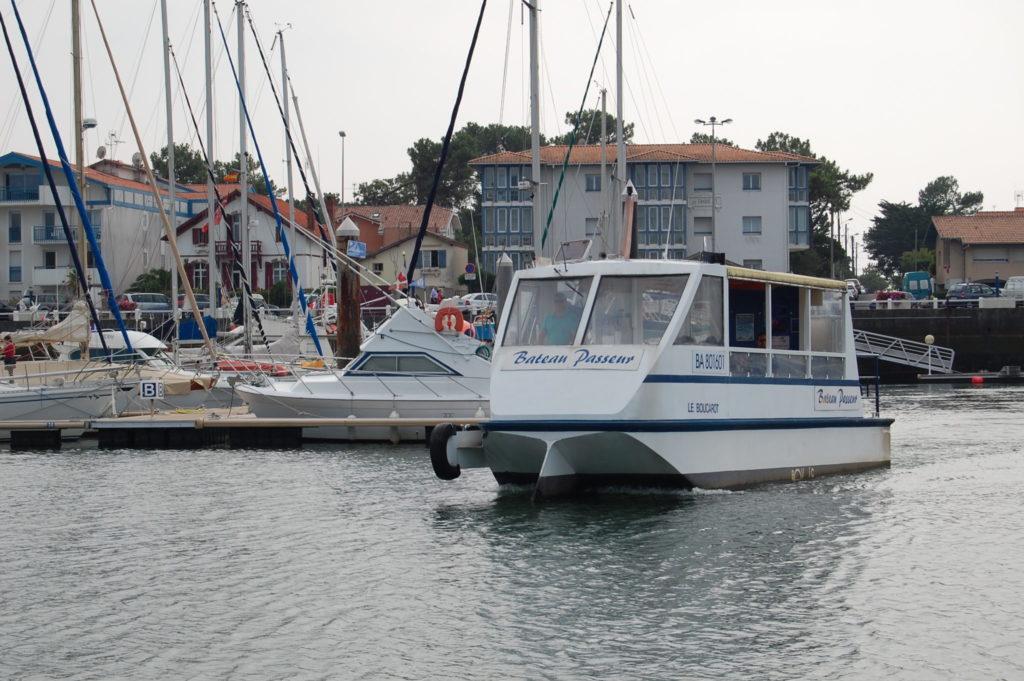 Le Boucarot, le bateau-passeur capbretonnais