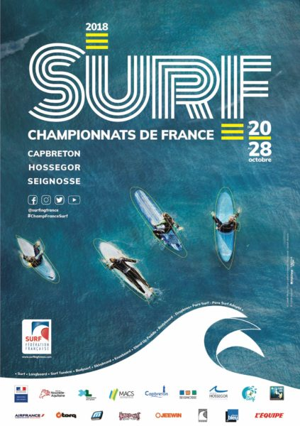 Championnats de France de Surf 2018