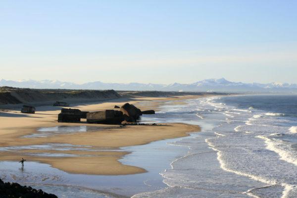Les plages de Capbreton