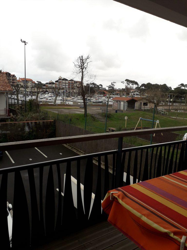 AA-vue du balcon sejour