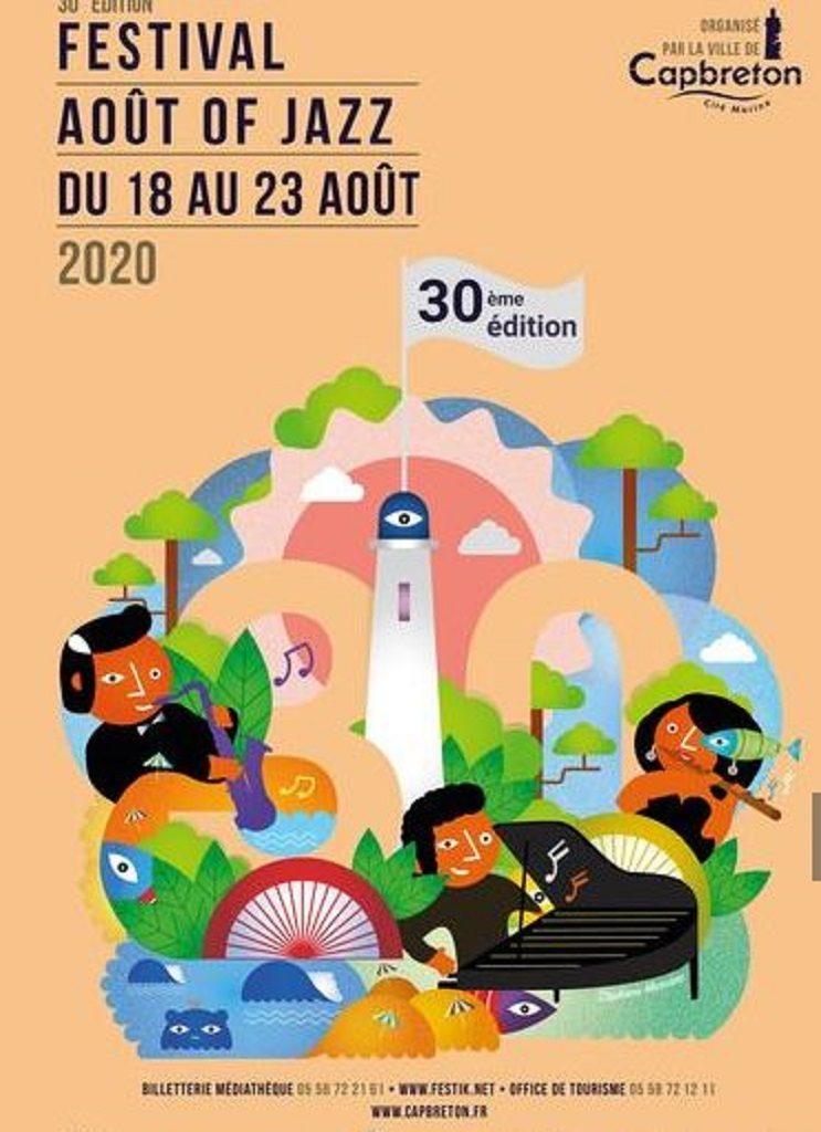 Festival de jazz-Capbreton-Landes Atlantique Sud
