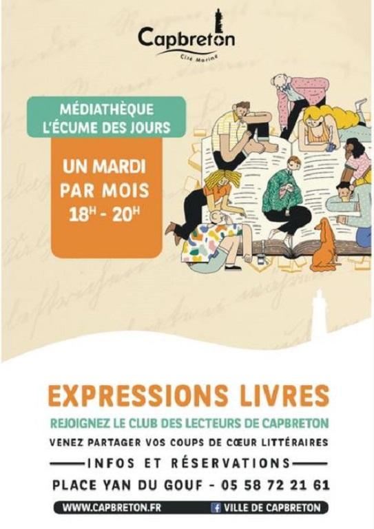 expressions livres médiathèque