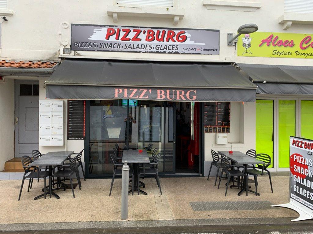 Pizz'burg Capbreton landes atlantique sud